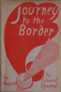 Dust jacket of Journey to the Border, designed by Vanessa Bell (sister of Virginia Woolf)